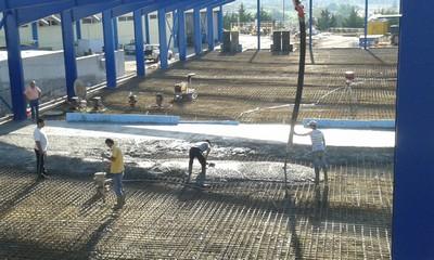βιομηχανικά δάπεδα κατασκευή