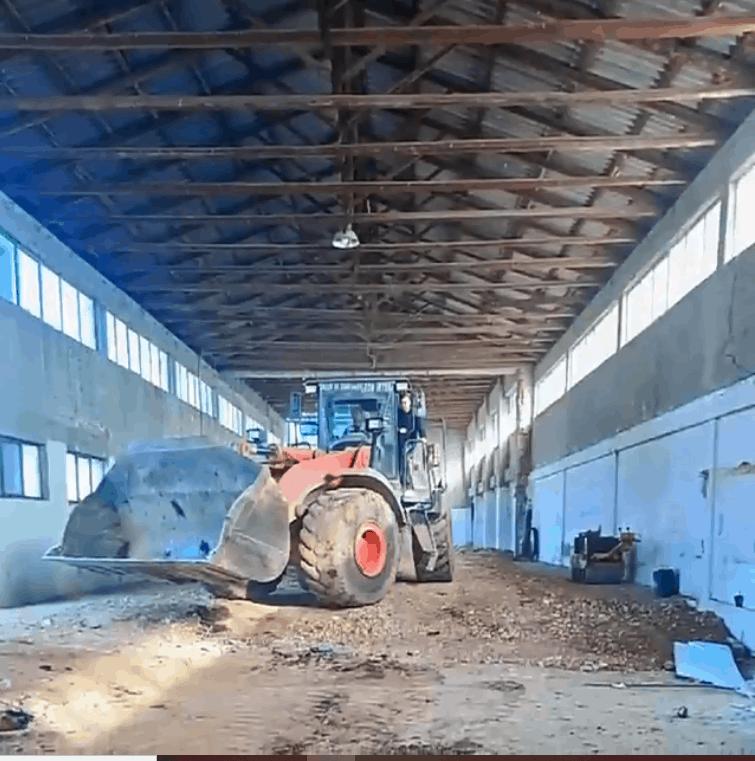 Βιομηχανικό δάπεδο σε εργοστάσιο στην Καρδίτσα 1