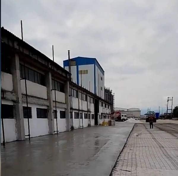 καρδίτσα βιομηχανικό δάπεδο εργοστάσιο